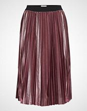 Saint Tropez U8000, Jersey Skirt Below Knee Knelangt Skjørt Rosa SAINT TROPEZ