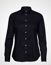 Gant Solid Stretch Broadcloth Shirt Langermet Skjorte Blå GANT