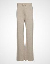 Cathrine Hammel Knitted Pants Vide Bukser Grå CATHRINE HAMMEL
