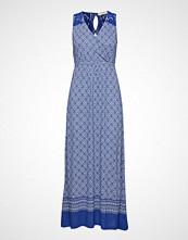 Cream Georgia Long Dress Maxikjole Festkjole Blå CREAM