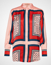 Scotch & Soda Button Up Shirt With Bandana Print Bluse Langermet Multi/mønstret SCOTCH & SODA