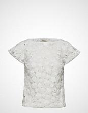 Valerie Boat Top T-shirts & Tops Short-sleeved Hvit VALERIE