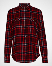 Lee Jeans Regular Western Langermet Skjorte Rød LEE JEANS