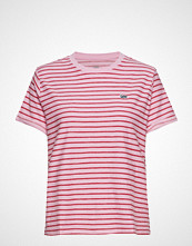 Lee Jeans Stripe Tee T-shirts & Tops Short-sleeved Rosa LEE JEANS