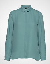 Esprit Collection Blouses Woven Bluse Langermet Grønn ESPRIT COLLECTION