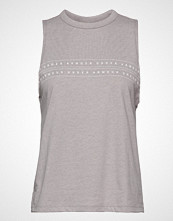 Under Armour Graphic Wm Muscle Tank T-shirts & Tops Sleeveless Grå UNDER ARMOUR