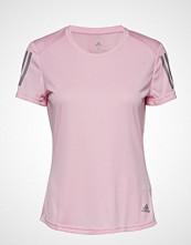 Adidas Performance Own The Run Tee T-shirts & Tops Short-sleeved Rosa ADIDAS PERFORMANCE