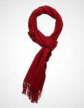 Gant Solid Wool Scarf Skjerf Rød GANT