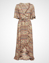 by Ti Mo Bohemian Wrap Dress Knelang Kjole Multi/mønstret BY TI MO