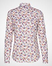 Gant D1. Scribbled Floral Stretch Shirt Langermet Skjorte Multi/mønstret GANT