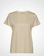 Scotch & Soda Mercerized Tee T-shirts & Tops Short-sleeved Beige SCOTCH & SODA