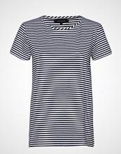 Soft Rebels Elle T-Shirt Y/D Stripes T-shirts & Tops Short-sleeved Blå SOFT REBELS