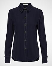 Stine Goya Kay, 474 Heavy Woven Langermet Skjorte Blå STINE GOYA