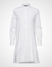 Bruuns Bazaar Rosa Allia Shirt Dress Kort Kjole Hvit Bruuns Bazaar
