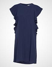 Minus Fabia Dress Knelang Kjole Blå MINUS