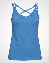 Bergans Cecilie Singlet T-shirts & Tops Sleeveless Blå BERGANS