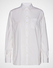 GAP Bf Shirt - Poplin Langermet Skjorte Hvit GAP
