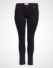 Violeta by Mango Super Slim-Fit Andrea Jeans Skinny Jeans Svart VIOLETA BY MANGO
