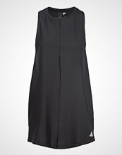 Adidas Performance W Id Long Tank T-shirts & Tops Sleeveless Svart ADIDAS PERFORMANCE