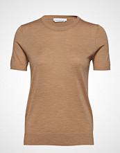 BOSS Business Wear Falyssa T-shirts & Tops Short-sleeved Brun BOSS BUSINESS WEAR