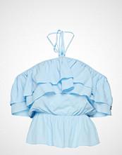 DESIGNERS, REMIX Nini Top T-shirts & Tops Short-sleeved Blå DESIGNERS, REMIX