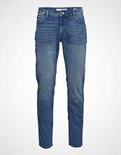 Mango Man Slim Fit Medium Wash Jan Jeans Slim Jeans Blå MANGO MAN