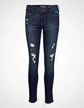 Hollister Low Rise Super Skinny Skinny Jeans Blå HOLLISTER