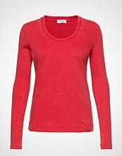 American Vintage Fuzycity T-shirts & Tops Long-sleeved Rød AMERICAN VINTAGE