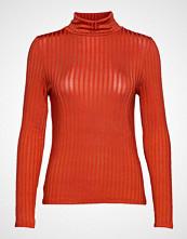 Vila Vibenja L/S Rollneck T-Shirt T-shirts & Tops Long-sleeved Oransje VILA