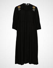 Junarose Jrpalomia 3/4 Sleeve Midi Dress - K Knelang Kjole Svart JUNAROSE