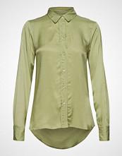 Soaked in Luxury Sl Jeanette Shirt Ls Langermet Skjorte Grønn SOAKED IN LUXURY