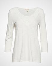 Esprit Casual T-Shirts T-shirts & Tops Long-sleeved Hvit ESPRIT CASUAL