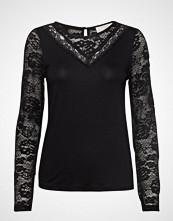Cream Kanecr Long Sleeve T-Shirt T-shirts & Tops Long-sleeved Svart CREAM