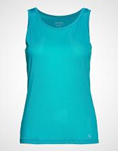 Schiesser Singlet T-shirts & Tops Sleeveless Blå SCHIESSER