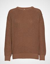 Brixtol Textiles Ridley Strikket Genser Beige BRIXTOL TEXTILES