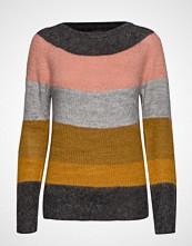 Pulz Jeans Pzgiselle Striped Pullover Strikket Genser Multi/mønstret PULZ JEANS