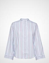 Gant O2. Tp Bell Sleeve Shirt Langermet Skjorte Blå GANT