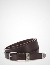Calvin Klein J 3cm Western No Charms Belt Belte Brun CALVIN KLEIN