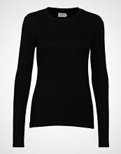 Kaffe Kalia Long Sleeve T-Shirt T-shirts & Tops Long-sleeved Svart KAFFE
