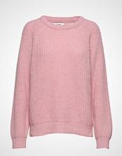 Mads Nørgaard Recycled Favorite Wool Ketty Strikket Genser Rosa MADS NØRGAARD