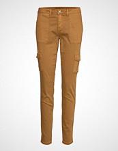 Cream Annie Cargo Pants - Baiily Bukser Med Rette Ben Brun CREAM