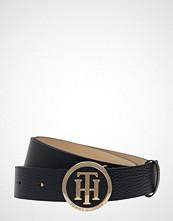 Tommy Hilfiger Th Round Buckle Belt Belte Blå TOMMY HILFIGER