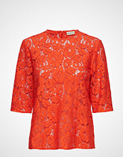 By Malene Birger Nolao T-shirts & Tops Short-sleeved Oransje BY MALENE BIRGER