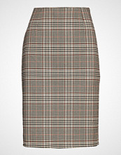 Saint Tropez U8020, Woven Skirt Bellow Knee Blyantskjørt Skjørt Multi/mønstret SAINT TROPEZ