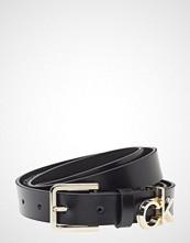 Calvin Klein 2.5cm Ck Slider Belt Belte Svart CALVIN KLEIN