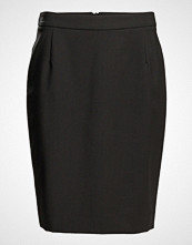 Filippa K Cool Wool Pencil Skirt Knelangt Skjørt Svart Filippa K