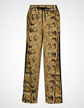 Coster Copenhagen Knitted Pants In Pyton Print Vide Bukser Gul COSTER COPENHAGEN