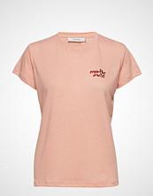Munthe Amaretto T-shirts & Tops Short-sleeved Rosa Munthe