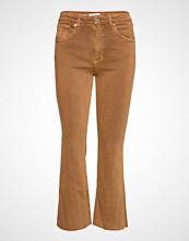 Mango Crop Flared Jeans Skinny Jeans Brun MANGO