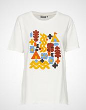 Fransa Fremtee 1 T-Shirt T-shirts & Tops Short-sleeved Hvit FRANSA